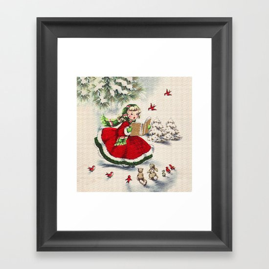 Vintage Christmas Girl by digitaleffects