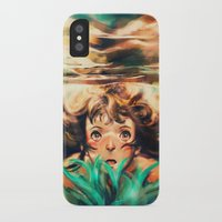 river iPhone & iPod Cases featuring The River by Alice X. Zhang