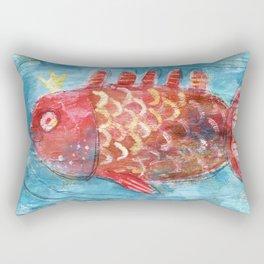 Royal Fish Rectangular Pillow