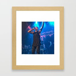 Andy LaPlegua of Combichrist Framed Art Print
