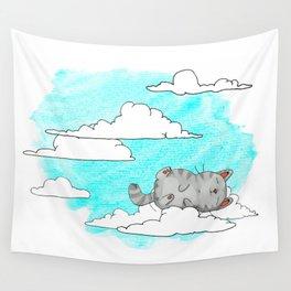 Sky Cat Wall Tapestry