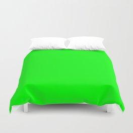 Neon Green Duvet Cover