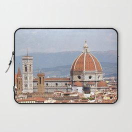 Florence cathedral dome photography Laptop Sleeve