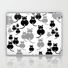 Fat Cats 1 Laptop & iPad Skin