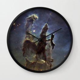 Pillars of Heaven - Galaxy Wall Clock