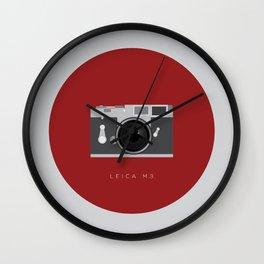 Leica M3 Wall Clock
