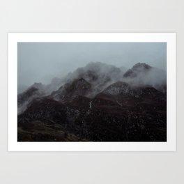 Moody Glencoe. Art Print