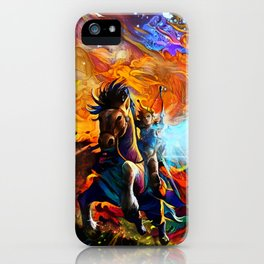 Colorful Horse iPhone Case