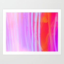 Neon Peepshow Art Print