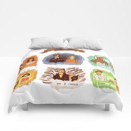 My favorite romantic movie couples Comforters
