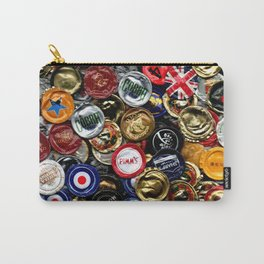 Beer Bottletops Carry-All Pouch