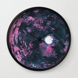 scifi fantasy illustration Wall Clock