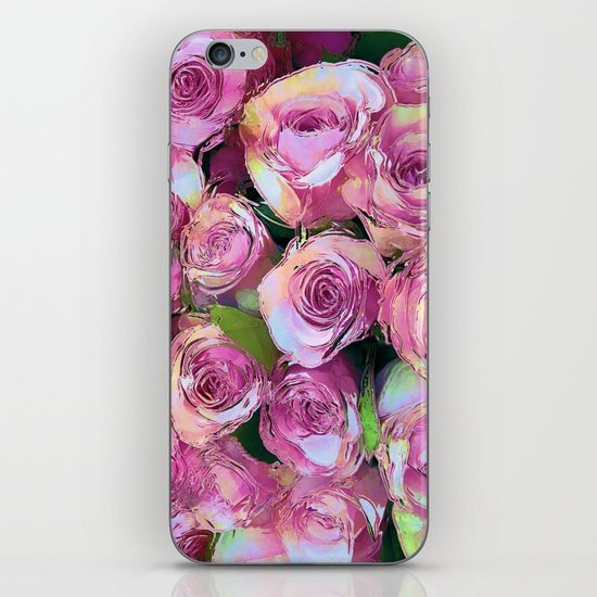 Gypsy Roses iPhone & iPod Skin
