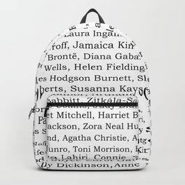 The Ladies of Literature Pattern Backpack