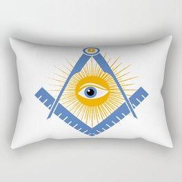 Freemasonry symbol Rectangular Pillow