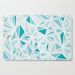 geo blue Cutting Board