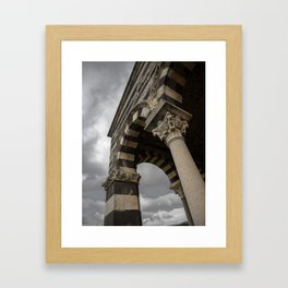 Saccargia church #3 Framed Art Print
