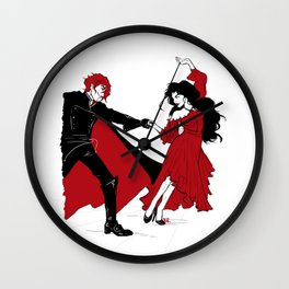 The Doctor Dances Wall Clock