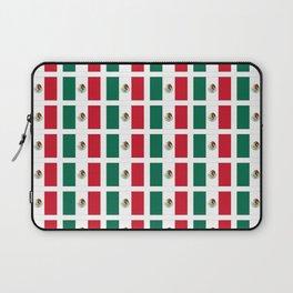 Flag of mexico 2- mexico,mexico city,mexicano,mexicana,latine,peso,spain,Guadalajara,Monterrey Laptop Sleeve