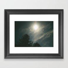 look to the sky . ii Framed Art Print