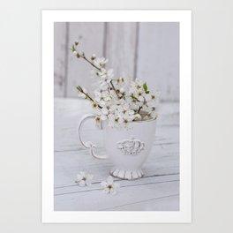 Sakura Cherry Blossom Spring Still Life Art Print