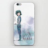 nurse iPhone & iPod Skins featuring Nurse  by Ginkelmier