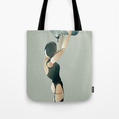 PAINTED BLACK Tote Bag