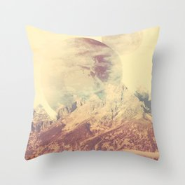 PLANETARY CONFUSION Throw Pillow
