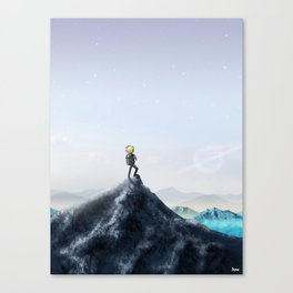 So much more to discover Canvas Print