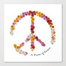 A Piece of Peace - 2016 Canvas Print
