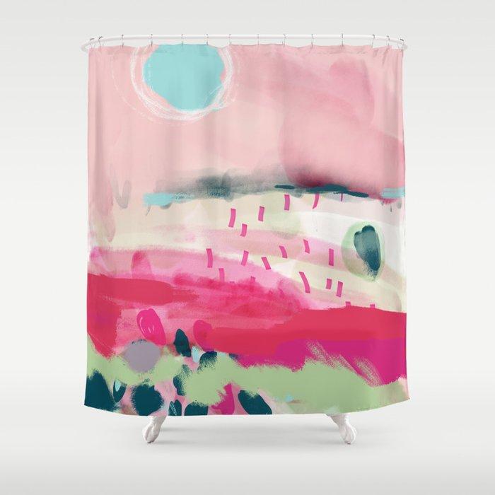 Spring Dream Landscape Shower Curtain