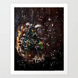 Birthing Planet Art Print