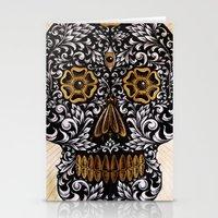 calavera Stationery Cards featuring CALAVERA by Nick Potash