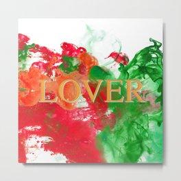 Lover Metal Print