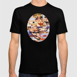 Glitch Pin-Up Redux: Taylor & Tiffany T-shirt
