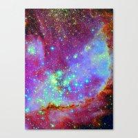 nursery Canvas Prints featuring Stellar Nursery by Starstuff