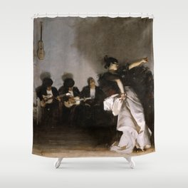 John Singer Sargent - El Jaleo Shower Curtain