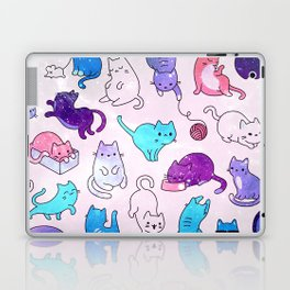 Space Cats Pattern Laptop & iPad Skin