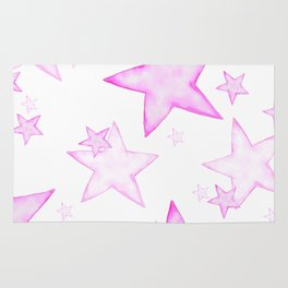 PINK STARS Rug