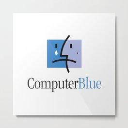 ComputerBlue Metal Print