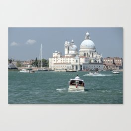 Water Taxis  Canvas Print