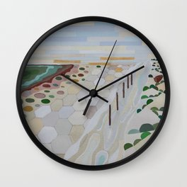 Aral Sea Wall Clock