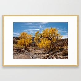 Autumn - Little_Wild_Horse_Canyon Trail, Utah Framed Art Print