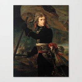 Bonaparte at the Pont d'Arcole - Antoine-Jean Gros Canvas Print