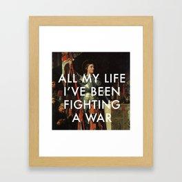 Joan's Bravado Framed Art Print