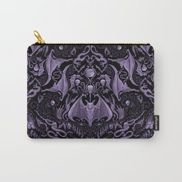 Bats and Beasts - ROYAL PURPLE Carry-All Pouch