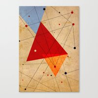 jazzberry Canvas Prints featuring knot by .eg.