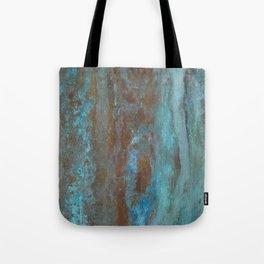 Patina Bronze rustic decor Tote Bag
