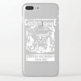 Custom Garage Clear iPhone Case