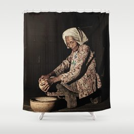 Grandmother 04 Shower Curtain